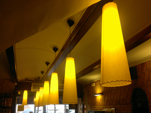 Lighting projecte classic coffee Mataró Spain